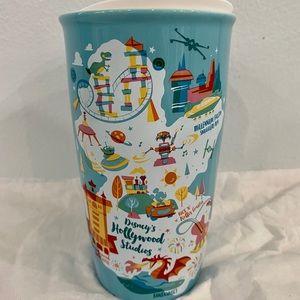 Disney Starbucks Hollywood Studios Tumbler Ceramic